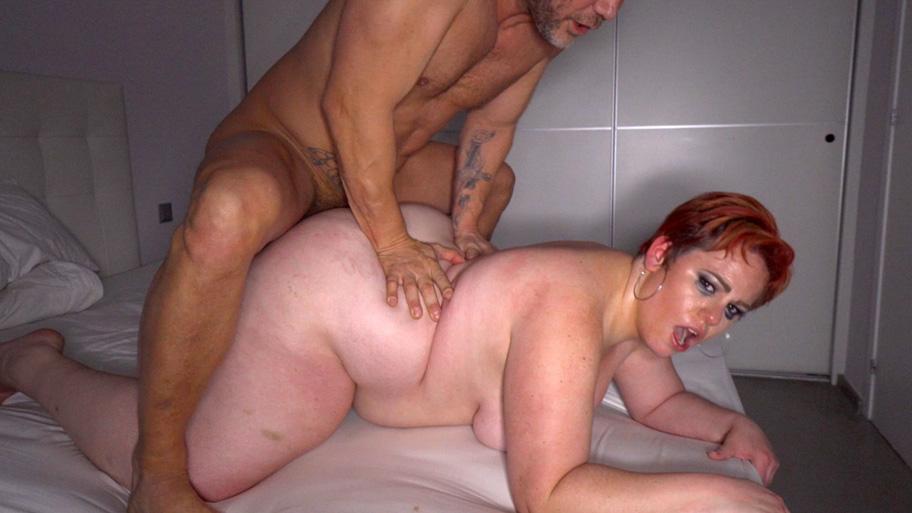 gorda vaginal y anal