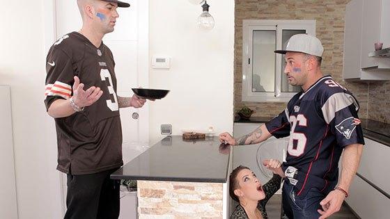 Sexo torrido en la Super Bowl